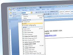 How To Write A Cover Letter On Microsoft Word 2007