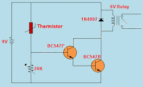 what are different types of sensors with circuits? Fujitsu Thermistor Wiring-Diagram at Thermistor Relay Wiring Diagram