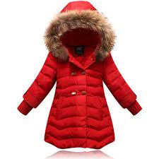 girl down jacket 6 12y outdoor coat winter long clothing for girls winter outerwear coats kid white duck down jacket down coats for toddler girls down