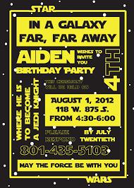 star wars birthday invite template free printable star wars birthday party invitations templates