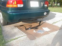 Autozone Trailer Lights Installing A Trailer Hitch On A Small Car 3 Steps With