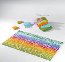 beautiful colorful bath rug for exciting bath mat design