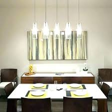 dining table chandelier height above room off right over kitchen set minimalis