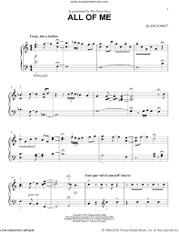 Piano sheet music for all of me, composed by jon schmidt for piano. Guys All Of Me Sheet Music For Piano Solo Pdf Interactive