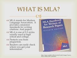 Mla Powerpoint For 4th 5th Beginning Research
