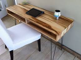 small modern desk. Midcentury Modern Desk Featuring Wormy Maple With Hairpin Legs. FDMNXZM Small E