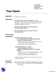 Expected To Graduate In Resume Sample Resume SampleProject ManagementHandout Docsity 24