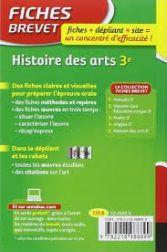 Buy Fiches Brevet Histoire Des Arts 3e Book Online At Low Prices In