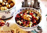 azeri olive walnut pomegranate medley  zeytun perverde