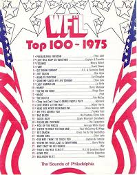 Billboard Charts April 1975 Wfil 56 Am Top 100 Songs For 1975 In 2019 Top 100 Songs