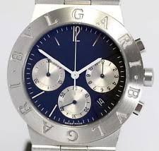bvlgari watches womensbvlgari handbags online store career authentic bvlgari mens 49 mm stainless steel rettangolo chronograph quartz watch original boxes and work including manual i am the original owner and