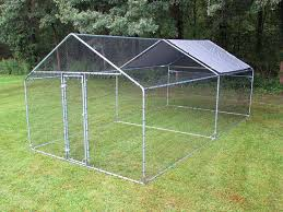 10x10 Chicken Coop Design Amazon Com Pinnon Hatch Farms Llc Chicken Run 10x10 20 30