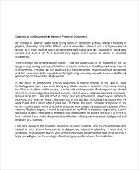 Examples Of Personal Statements Grad School Personal Statement Examples Bravebtr