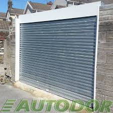 automatic galvanized steel garage door