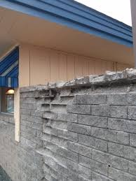 cinder block wall repair. Interesting Cinder Some Of The Concrete Blocks In This Wall Are Beyond Repair The Mystery Is  Why On Cinder Block Wall Repair