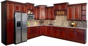 cherry kitchen cabinets. Cool Dark Cherry Kitchen Cabinets Modern Contemporary Stained Varnished Plywood Mahogany Oak Furnitures High Quality K