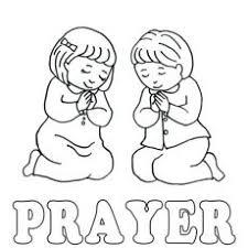 Amusing Praying Child Coloring Page Unlock Lds Excellent Prayer