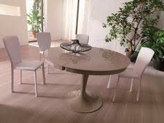 round glass extendable dining table: bianca white high gloss amp glass round extending dining table  m cam dama round ext table a basic elegance furnishings ltd pinterest