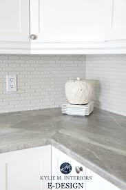 formica soapstone sequoia greige laminate countertop in kitchen with cloud white cabinets kylie m e design