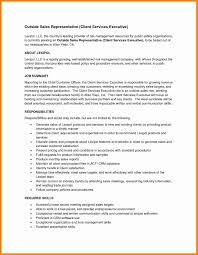 Brilliant Ideas Of Sample Resume Of Sales Representative Simple