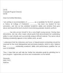 Letter Of Recommendation Format Download Sample Training