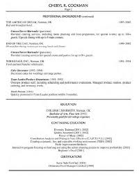 Food Service Resume Samples
