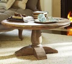 round wood coffee table writehookstudio com within farmhouse plans 12