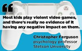 do video games cause violence behavior in youth