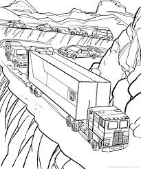 Small Picture semi truck coloring pages vonsurroquen
