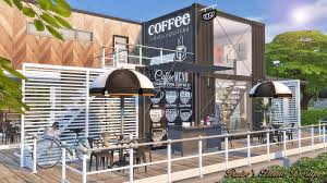 Small Picture Sims4 Container Coffee Shop Rubys Home Design Sims 4