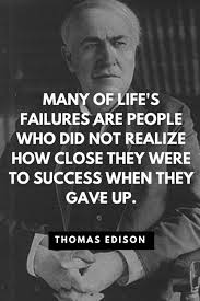 Thomas Edison Quotes Awesome Positive Quotes They Love Quotes