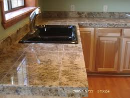 Granite Tile For Kitchen Countertops Granite Tile Countertop Kit