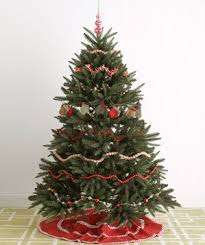 How to Decorate With Garland. A Christmas tree ...