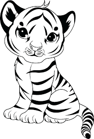 Free Coloring Pages Cute Baby Animals Cute Baby Animal Coloring
