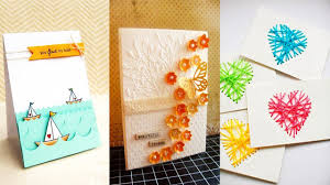 Mothers Greeting Card Diy Mothers Day Greeting Card 5 Diy Ideas Youtube