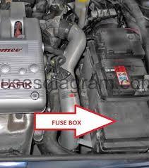 fuse box alfa romeo 147 fuses and relay alfa romeo 147