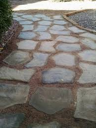 nantucket pavers 20 in and 21 in irregular concrete tan