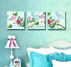shabby chic wall decor bedroom by art set of 3 canvas girls diy on shabby chic wall art bedroom with shabby chic wall decor bedroom by art set of 3 canvas girls diy