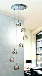 stairwell pendant lights smoked glass and crystal long drop light ideal for stairwells large modern lighting
