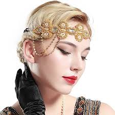 Gatsby Hairstyles 16 Inspiration BABEYOND 24s Flapper Headband Crystal Great Gatsby Headpiece