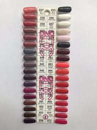 Dnd Gel Nail Polish Color Chart 2019 Dnd Gel Polish Sample Chart Dc Collection Chart 2 In 2019