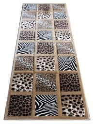 animal print rug runners animal prints rug runner in x 7 ft sculpture animal print rug