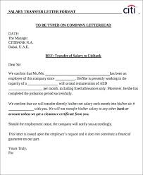 Confirm Letter Of Employment Bank Account Transfer Letter Template Of Employment For