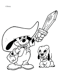 Baby Mickey Mouse Coloring Pages To Print Copy Free Disney Minnie