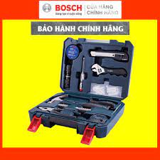 CHÍNH HÃNG] Bộ Dụng Cụ Đa Năng Bosch 66 Món, Giá Đại Lý Cấp 1