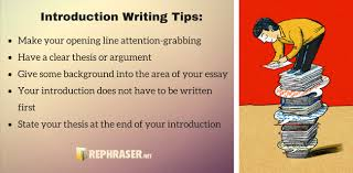 effective introduction paragraph generator introduction writing tips