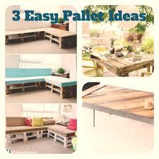 pinterest pallet furniture. 3 Easy Pallet Furniture Ideas Pinterest