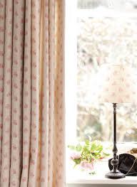 agatha curtain matching small empire lampshade