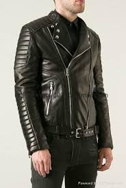 Men's Balmain Slim-Fit Padded Leather Quilted Biker Jacket cheap ... & Men's Balmain Slim-Fit Padded Leather Quilted Biker Jacket cheap for sale  online 1 ... Adamdwight.com