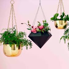 Large Brass Hanging Planter | Show Me Everything | Homeware - Me and My  Trend